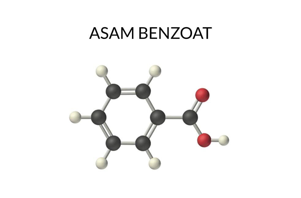 Rumus kimia asam benzoat