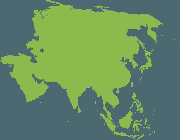 Karakteristik benua asia sebagai benua paling luas di dunia