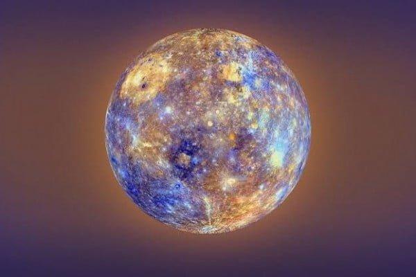 Planet merkurius di sistem tata surya