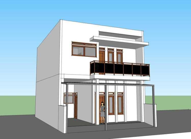 denah rumah 3 kamar ukuran 7x9