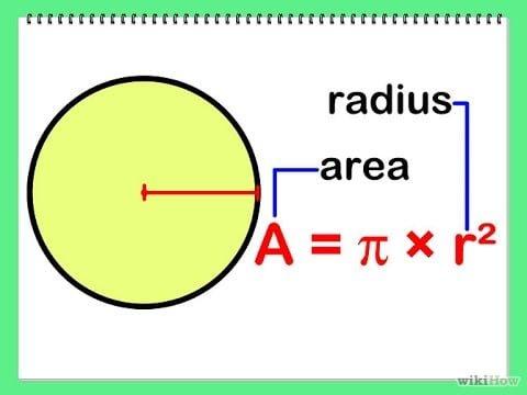 Cara menghitung rumus luas lingkaran contoh soal