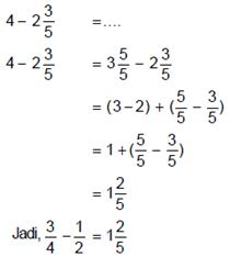 rumus matematika kelas 6